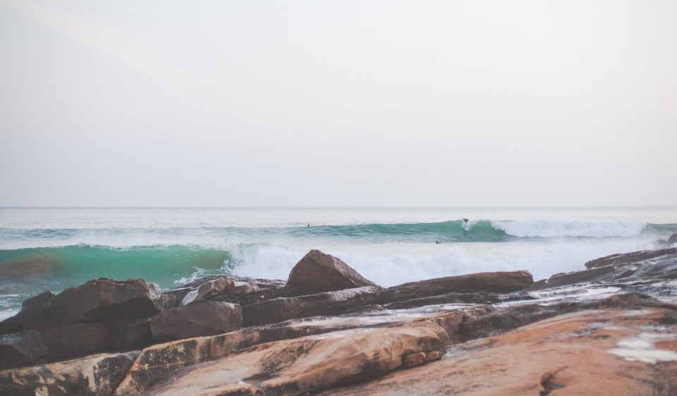 Even in the throws of deep winter, Moroccos's Anchor Point, though crowded, can offer some AAA class perfection.