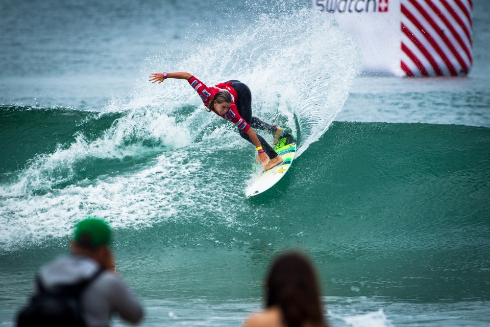 2012 Swatch Pro champion, Courtney Conologue, is currently lying third on the ASP Women's World Tour.