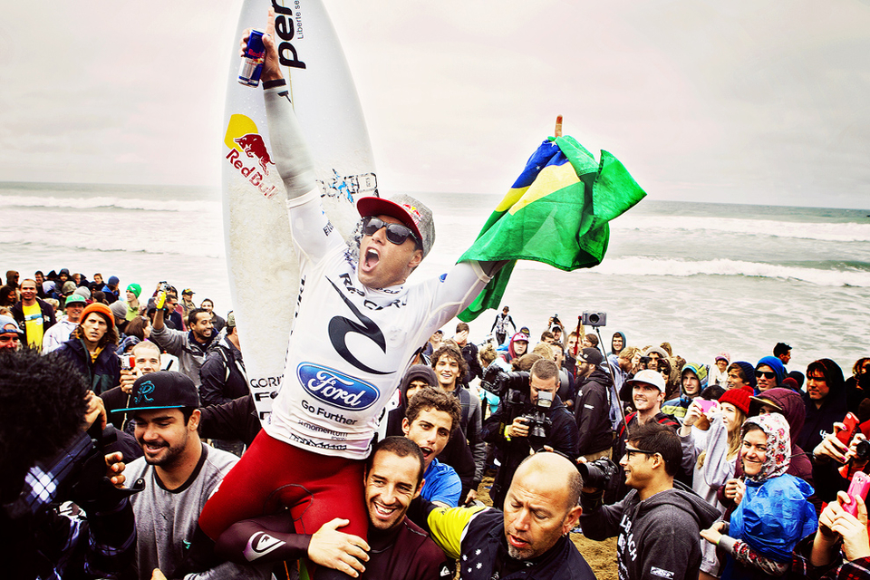 """This is the most important event on tour to me,"" De Souza said. ""Guys like Andy Irons, Kelly Slater, my hero Mick Fanning, they have all rung the Bell. I have been coming here a lot of years. I love the place."