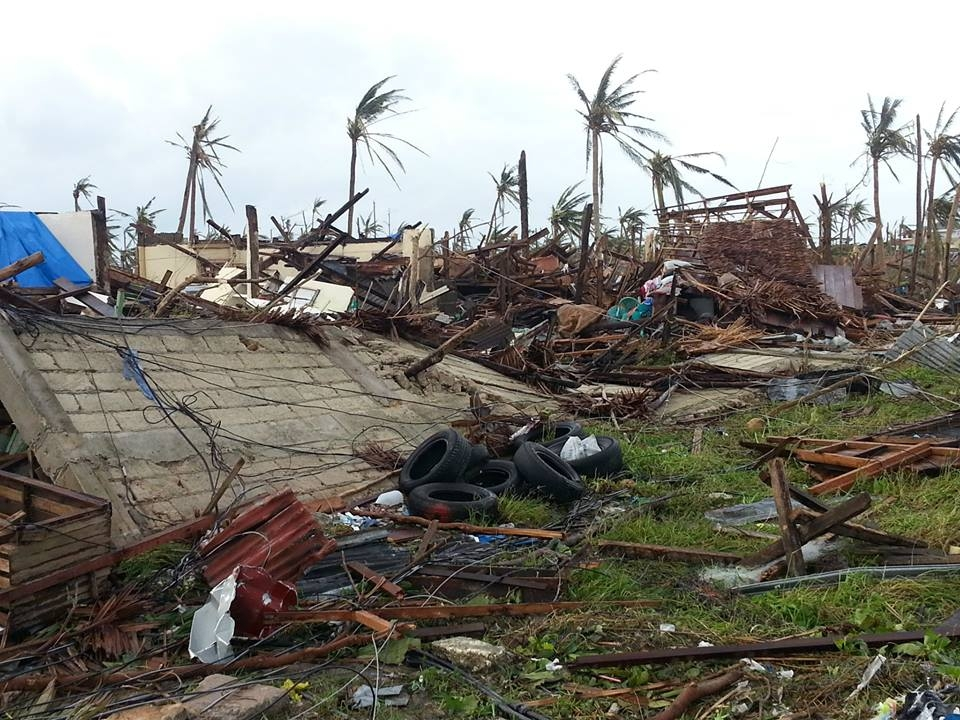 100 percent destruction from Typhoon Haiyan