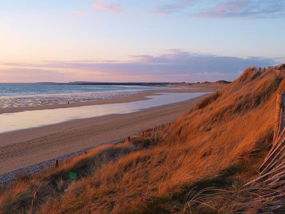 Doughmore's a surf and beauty spot along the Irish coastline.