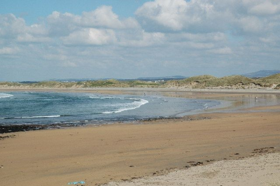 Doughmore's an expansive beach, home to surfers, beach walkers and anyone wanting to enjoy wild Ireland.