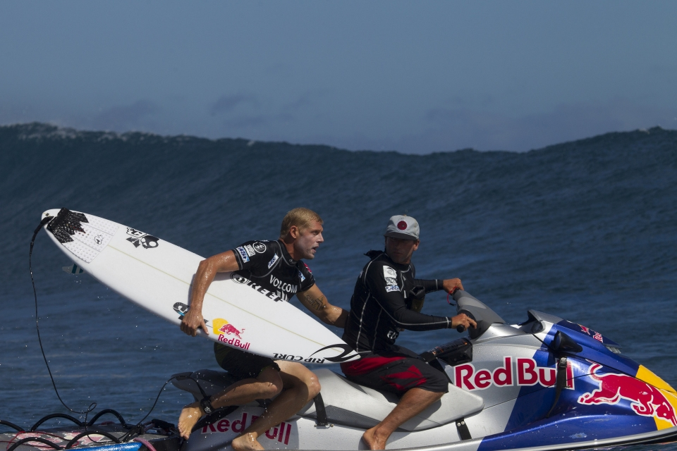 Mick Fanning now sitting at number two in the world is probably reasonably happy with his lot.