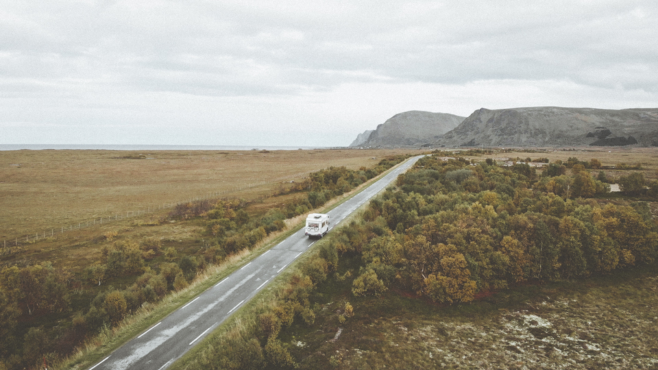 Sure, you can live life on the road in Norway.