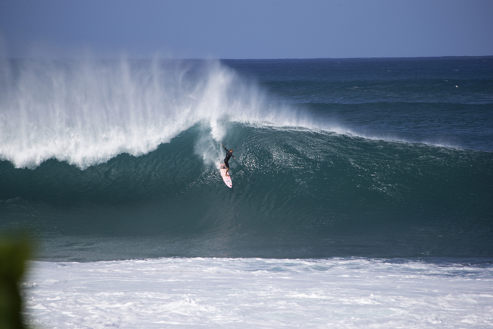 Pipe, December 30th, Anthony Walsh locking down.
