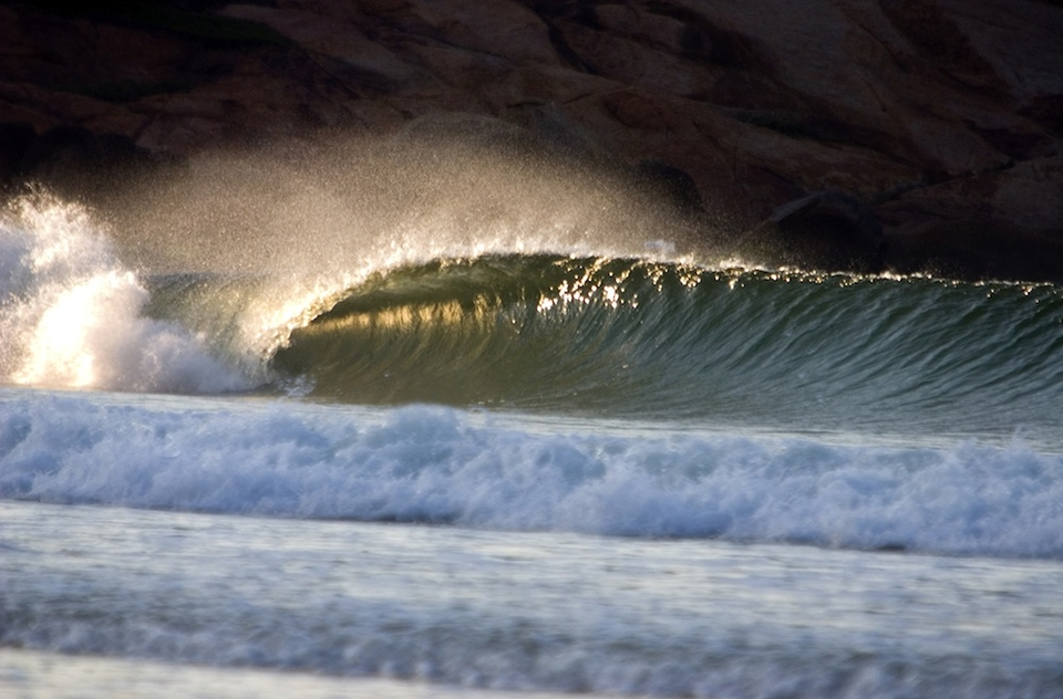 Guarda do Embaú is home to Brazil's best rivermouth wave.