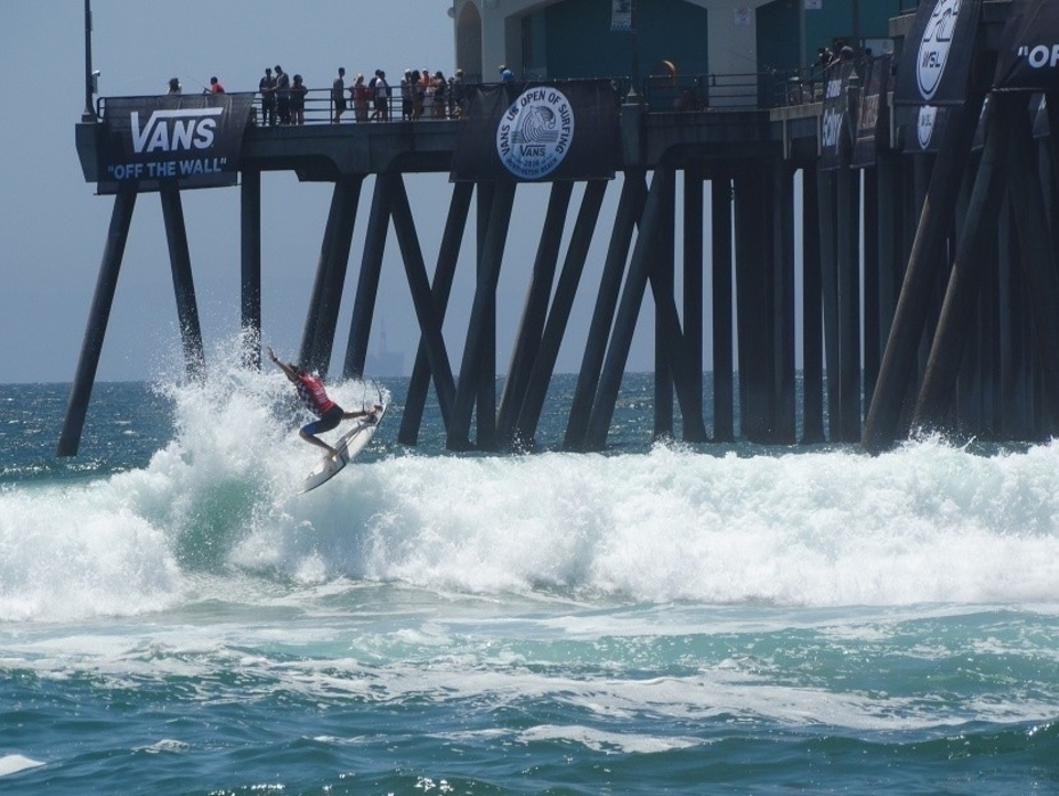 45e268e380 The Vans World Cup of surfing is held at Huntington Beach each year