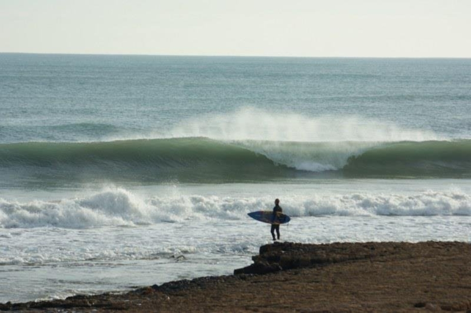 And did you know Valencia gets waves too? It copped the brunt of the swell. Here's a similar look back in 2011.
