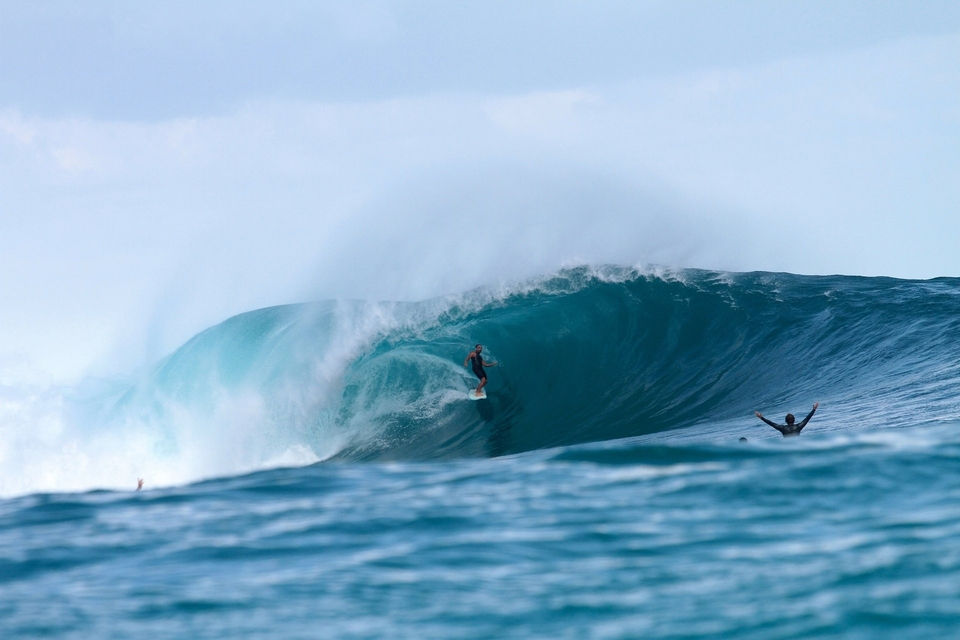 The quintessential wave, out of the jungle.