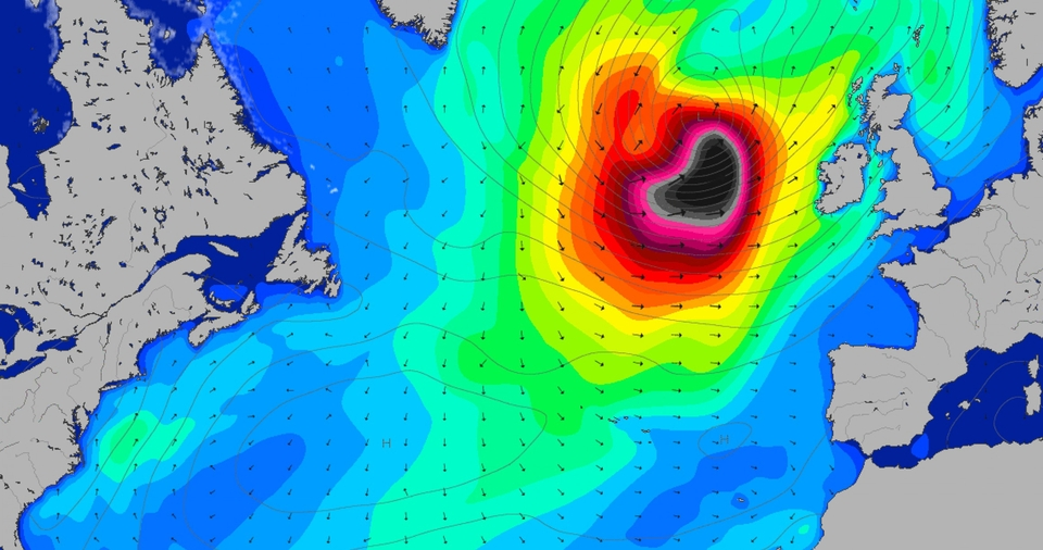 Here, we have what's in store for Nazare, and the rest of Europe. Details HERE.