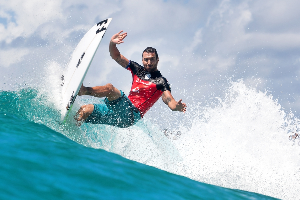We don't have to waffle on too much about Parko. We all know his surfing is more therapeutic than getting a one hour Shiatsu massage.