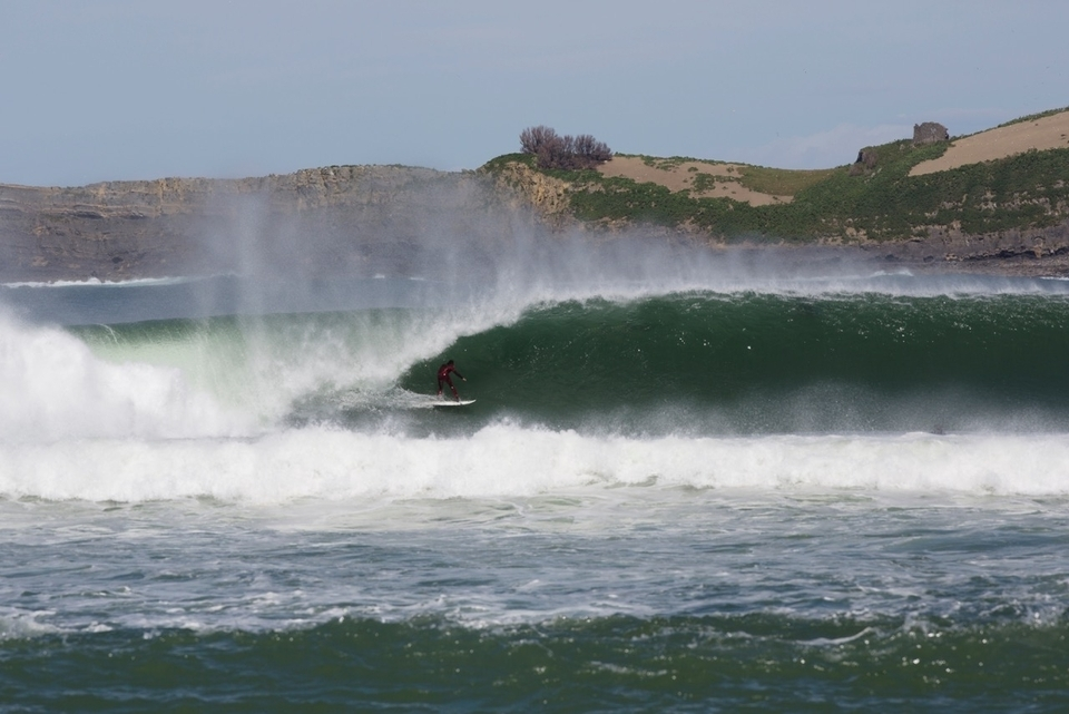 Kepa at home in Mundaka.