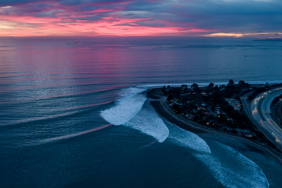 Rincon, from the lens of Miah Klein on January 2.