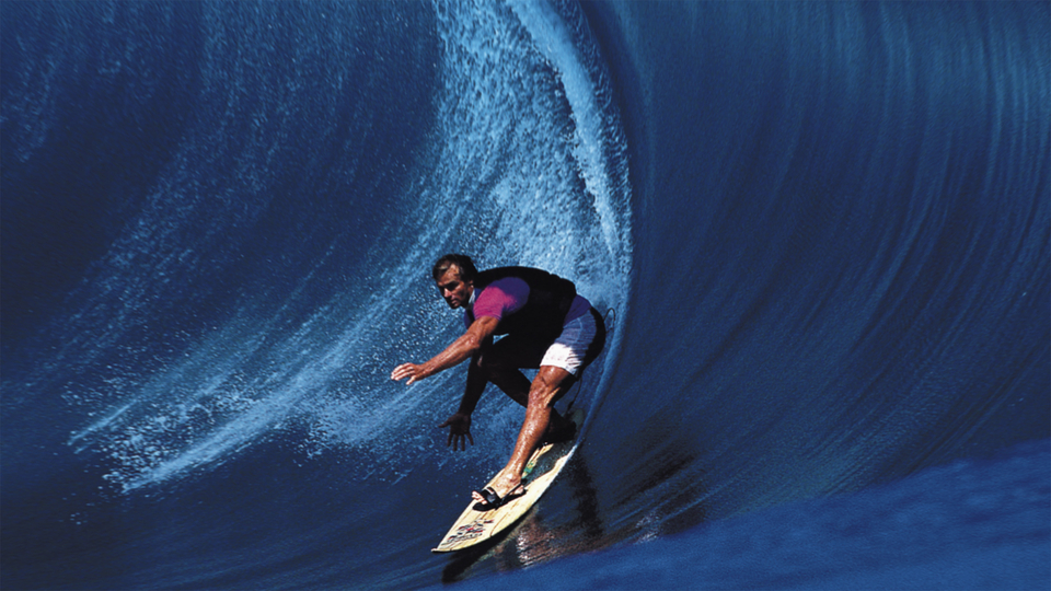 This, the millennium wave, Laird at Teahupoo which thrust Hamilton under the surfing spotlight.