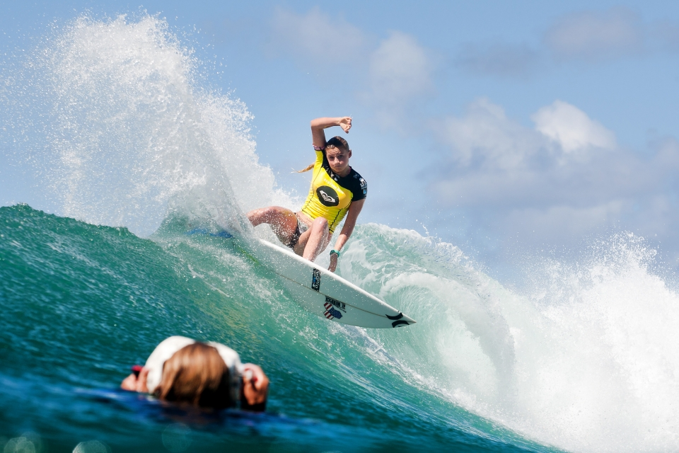 Lakey Peterson was another to come of age at Snapper making the semi finals.