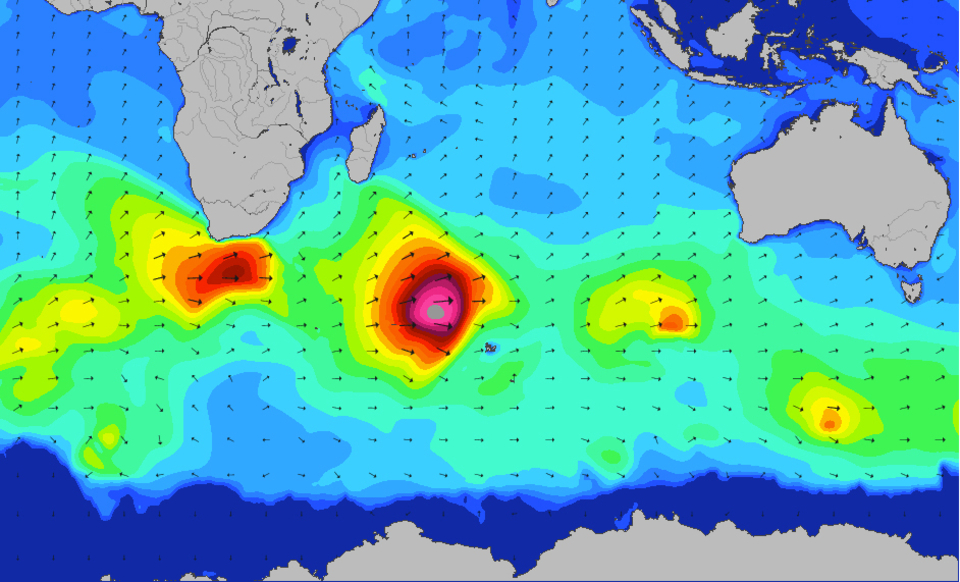 The fertile production line of Indian Ocean swell has been in high gear.