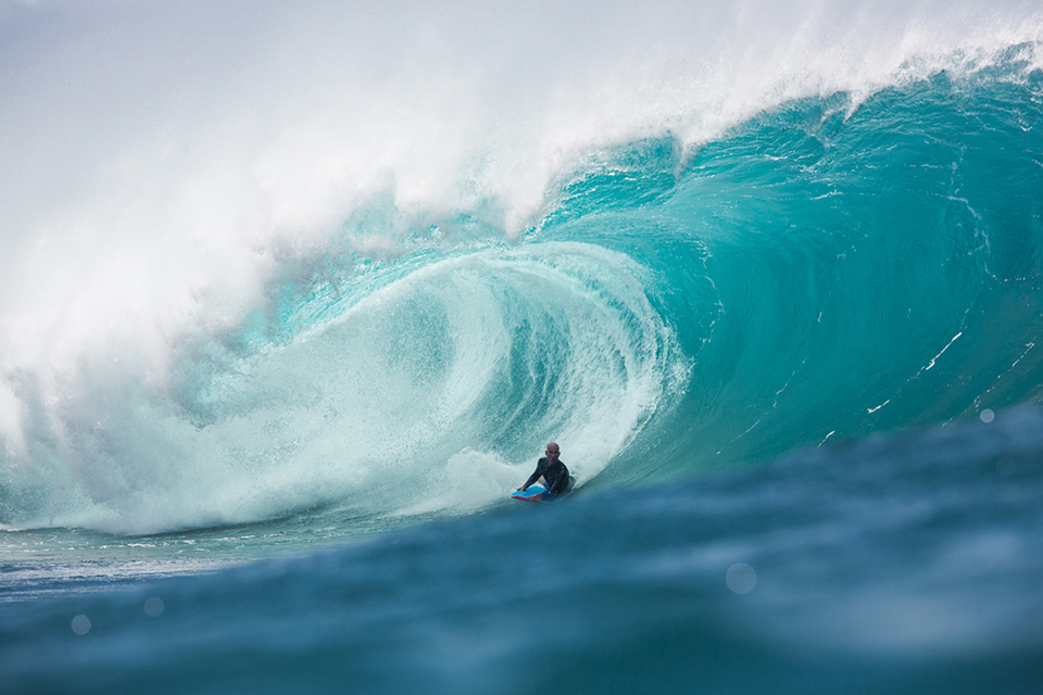 Mike just a couple of weeks ago in late season Pipeline.