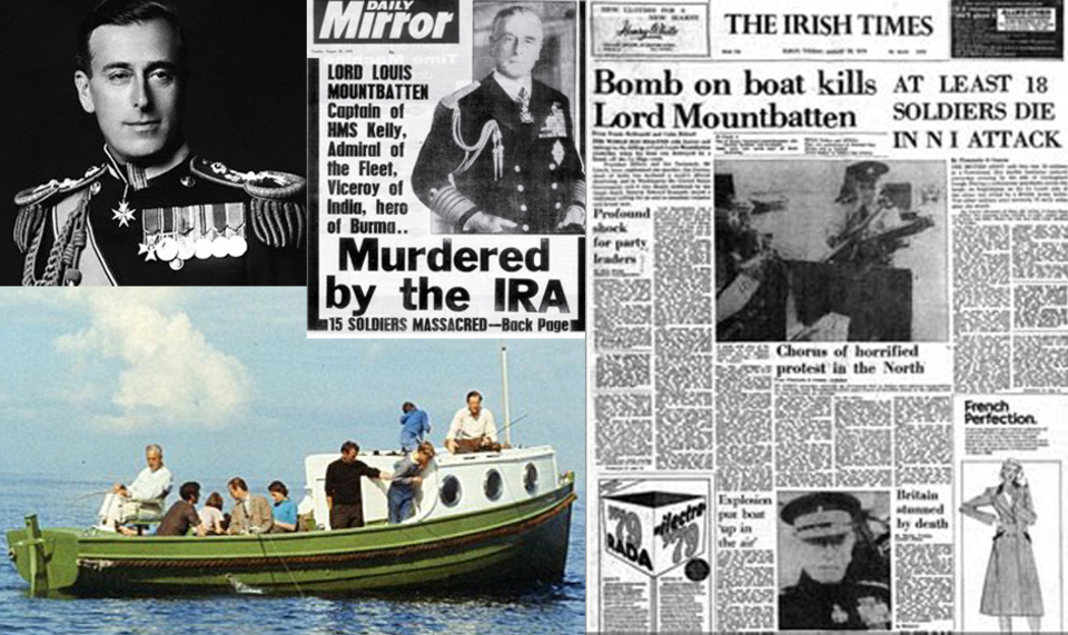 Mountbatten's boat the Shadow V and when Mullaghmore was front page news.