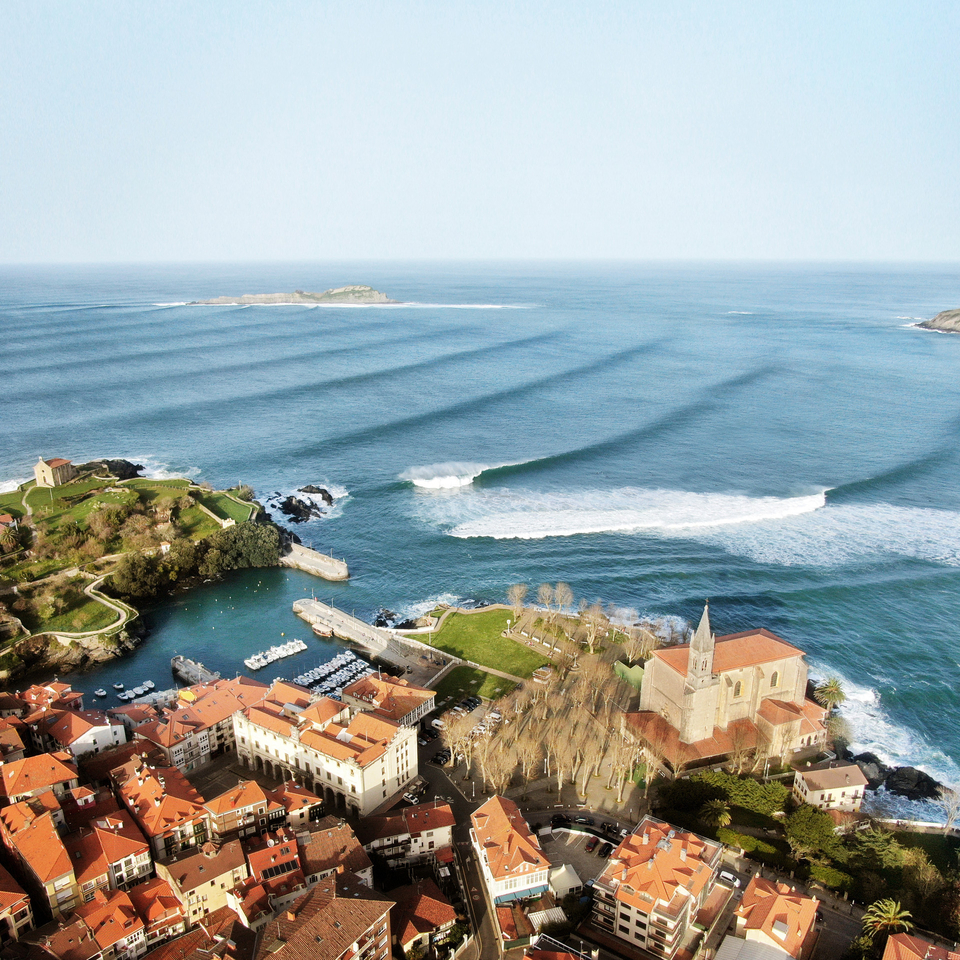 Dream view, Mundaka from an eye up high.