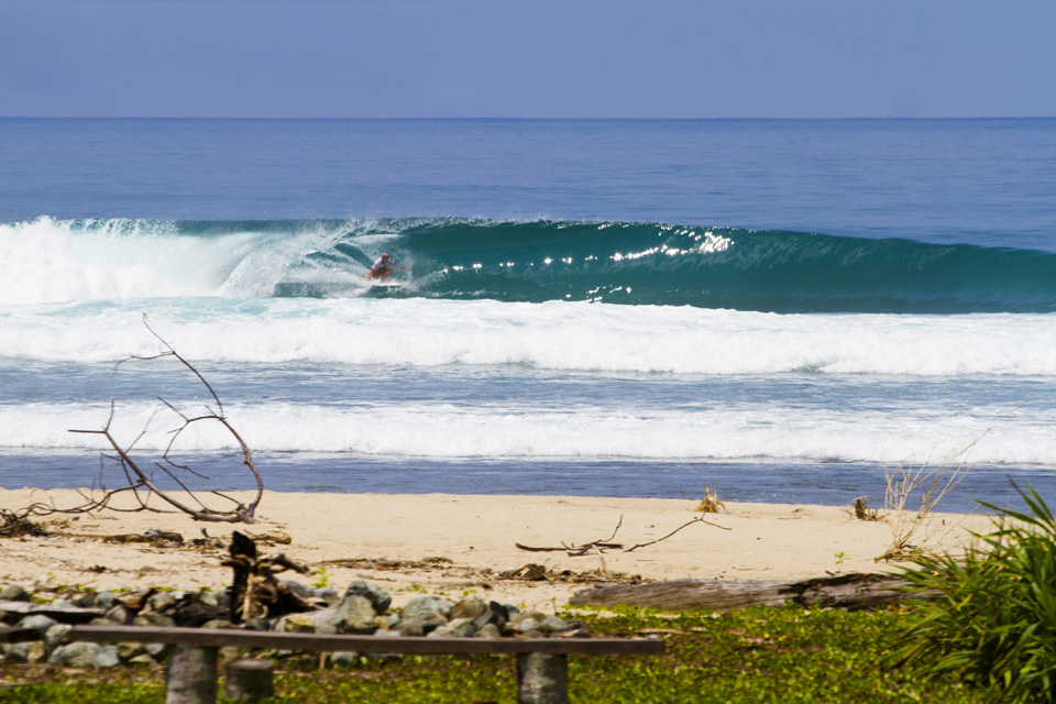 OIly smooth day with glassy conditions.