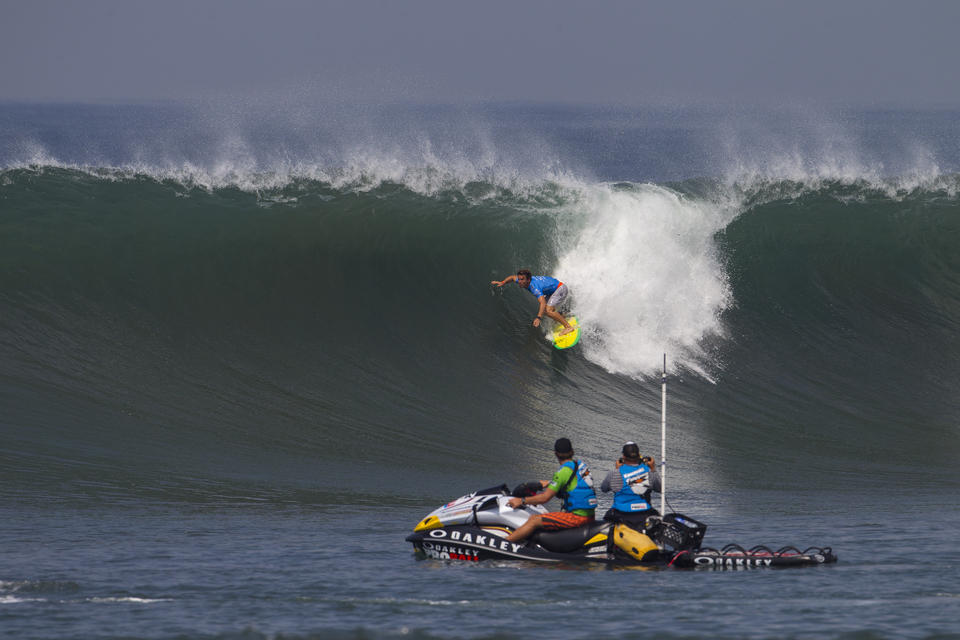 Yadin Nicol lost out to Mick Fanning