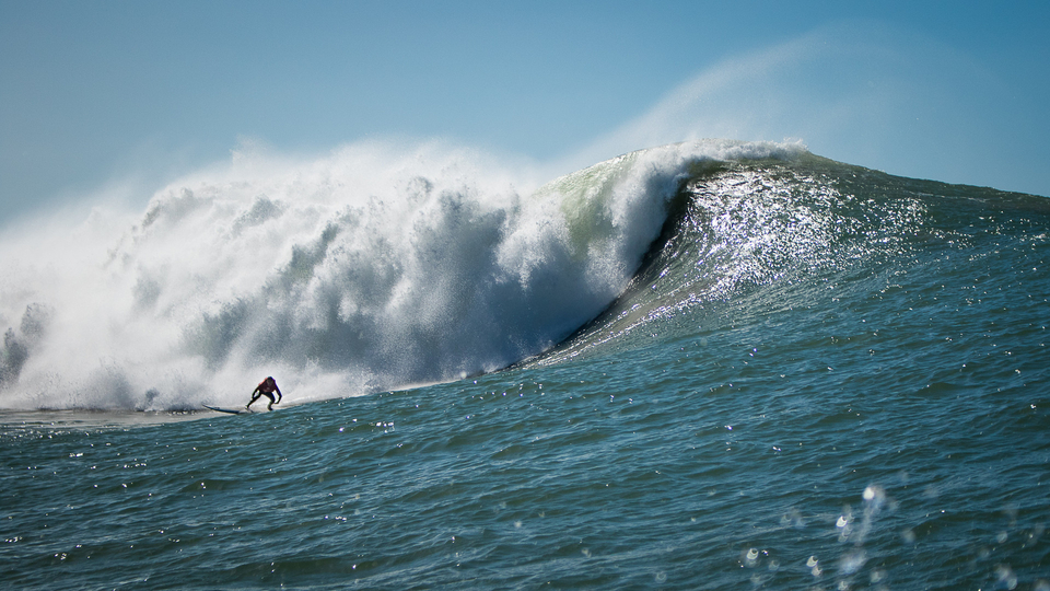 Morocco's a place we know, we love! But a bonafide big wave spot? Potentially.
