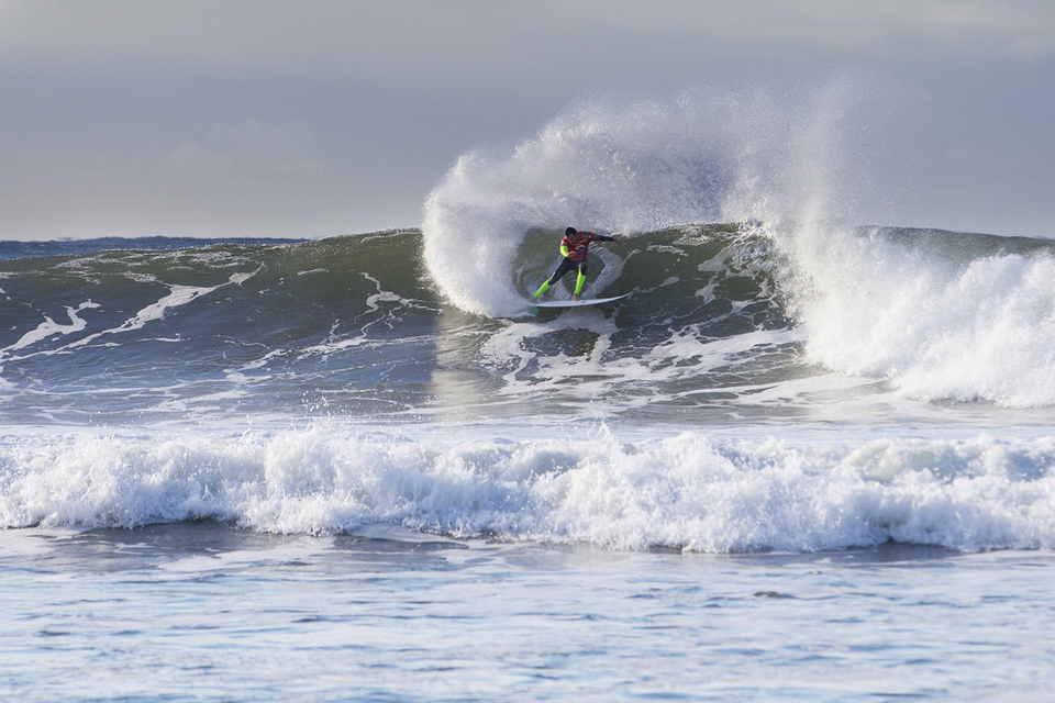 """Monteiro posted a 19.17 to cause the second major upset of Monday.   """"No one ever wants to lose,"""" Parkinson (pictured) said. No one wants to lose with a 10 and a 9 either, but Raoni (Monteiro) is surfing really well and if he beats me with those kind of scores then he definitely deserves credit. Losing out at Bells early is a lost opportunity, but it's a long season ahead. I'm going to regroup and focus on Brazil."""""""