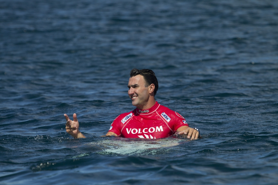 Joel Parkinson lost out in a tense and low scoring heat.