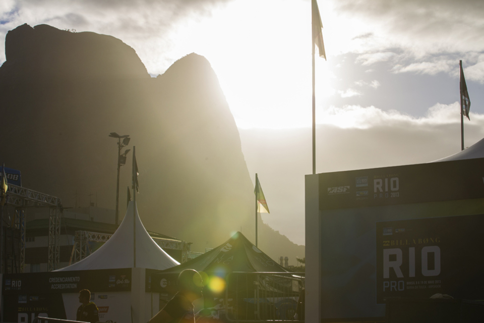 Rio Daze, normally arrives about 6am