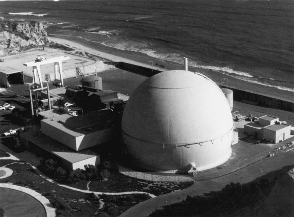 San Onofre power station closed in 2013.