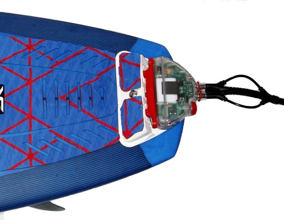 The Shark Shield: a portable electronic device that emits an electromagnetic field to repel sharks