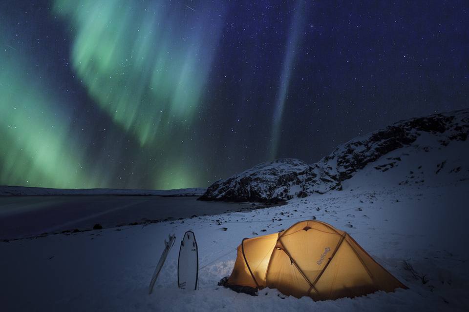 We can think of worse places to spend a night...