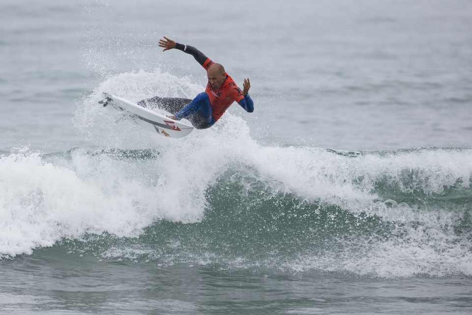 """I'm happy for Pat (Gudauskas),"" said Slater, immediately following his loss. ""He's a great surfer and he's been on the losing end of several close heats and it's about time something went his way, but this result is a bummer. This is three bad results for me this year and I don't have much room to move."""