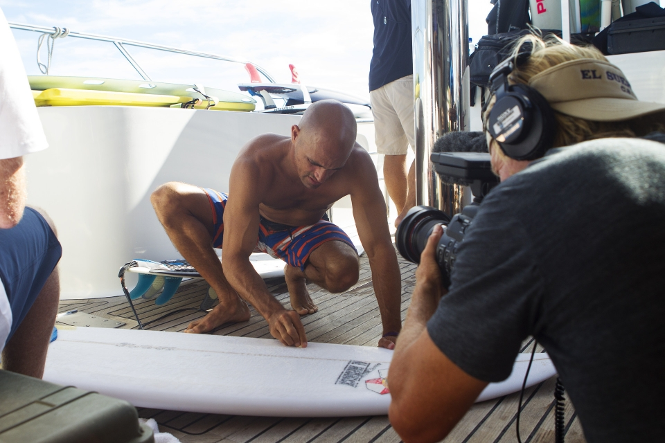 When Kelly Slater waxes his board the world watches...