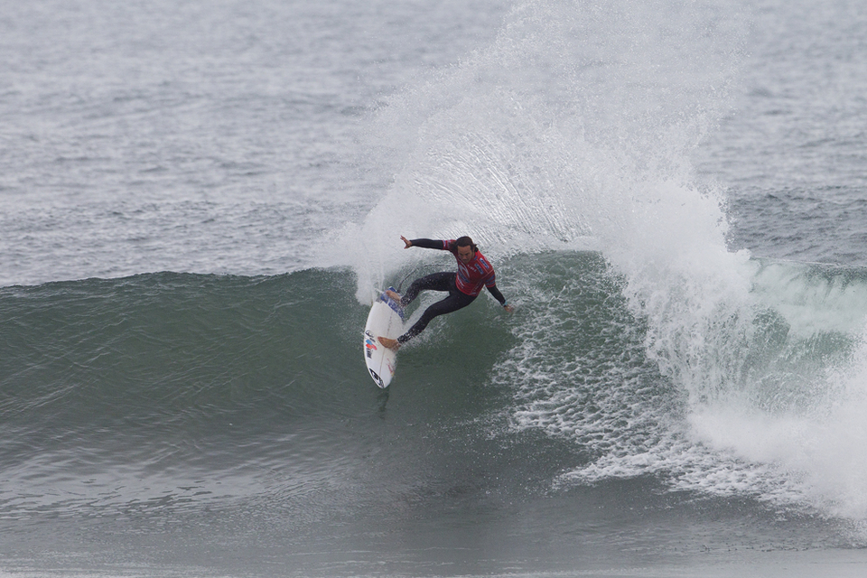 """""""Definitely disappointed that the score didn't come in for me at the end,"""" Jordy said. """"I really wanted to ring that Bell and felt like I've been surfing well all week. Congrats to Adriano (de Souza) though. He's been ripping. Everyone's been ripping and there have been some interesting results. Makes the year interesting. I'll take the momentum into Brazil."""""""
