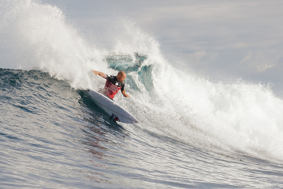Slater has cautiously edged his way through the rounds, yet to open up with a moment of brilliance.