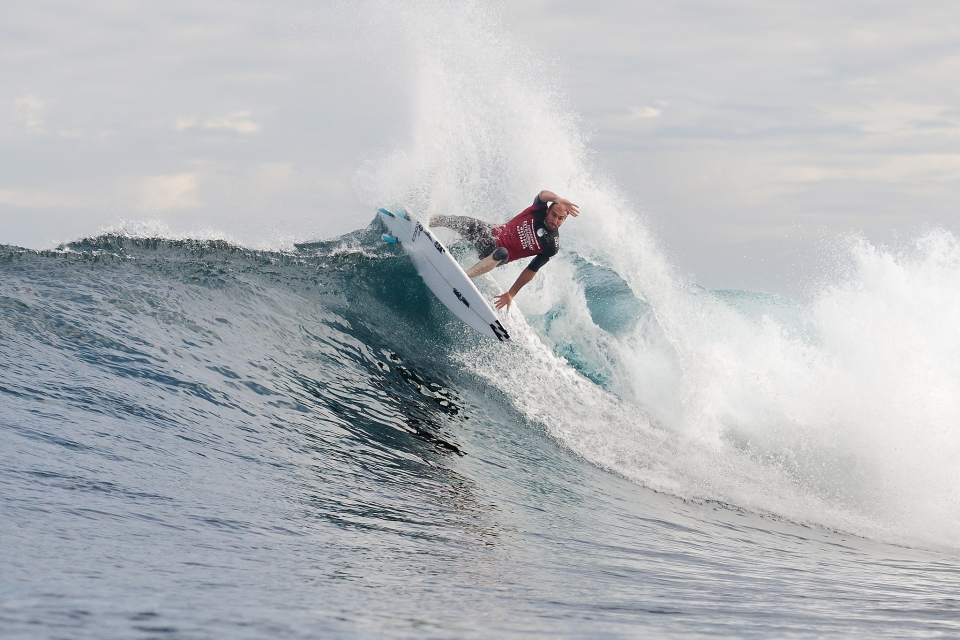 This wave suits Parko. It wouldn't surprise us if he goes the whole way.