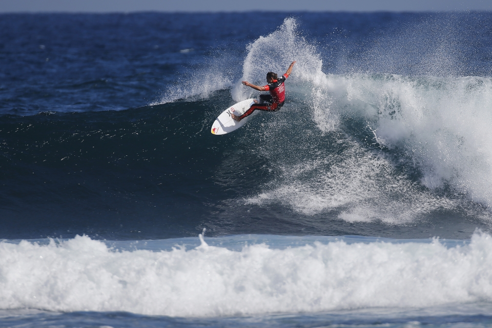 """Tyler Wright looked awesome today and she's a tough competitor,"" said Carissa Moore. ""I think any time any of us are in a Final we really want to win it and take it home. I was really excited and told myself 'come on, it's time'. It's a very challenging wave here at Margaret River and I'm constantly learning so I'm thankful to be able to win here again."