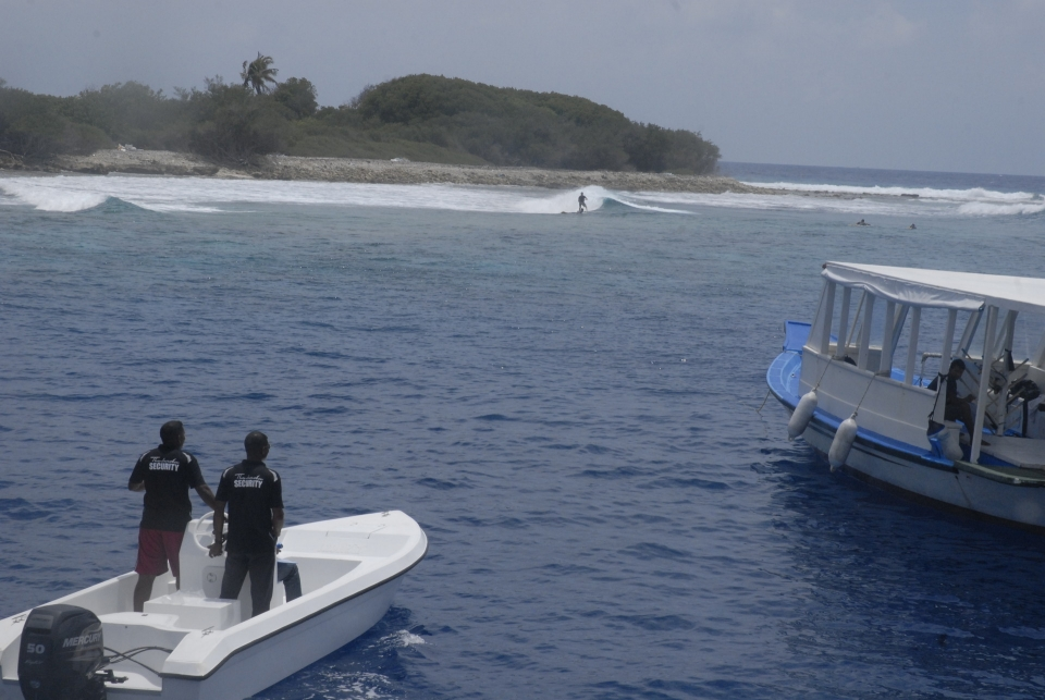 Honky's on Thamburudhoo island during restrictions.
