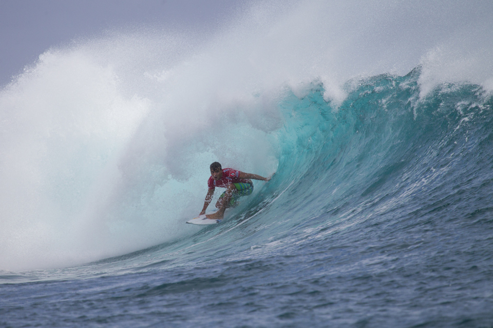 Julian Wilson seems to be enjoying skirting the spotlight.