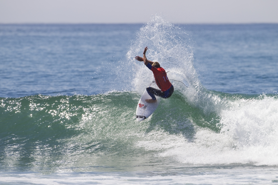 """Seabass looked sharp throughout his heat, comprehensively defeating Brazilian, Raoni Monteiro. """"I was super bummed in Tahiti and I didn't really trust my instincts,"""" Zietz said. """"I'm going back to the old school and trusting my instincts. I'm hoping to get a result here and I love Trestles. It's been a big part of my career. It'd be great to get a Quarters or Semis and I've got a good small wave board."""""""