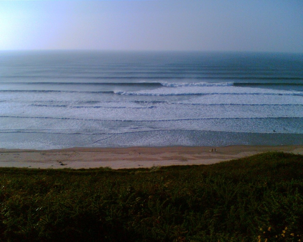 Bundy's photo of Croyde Beach