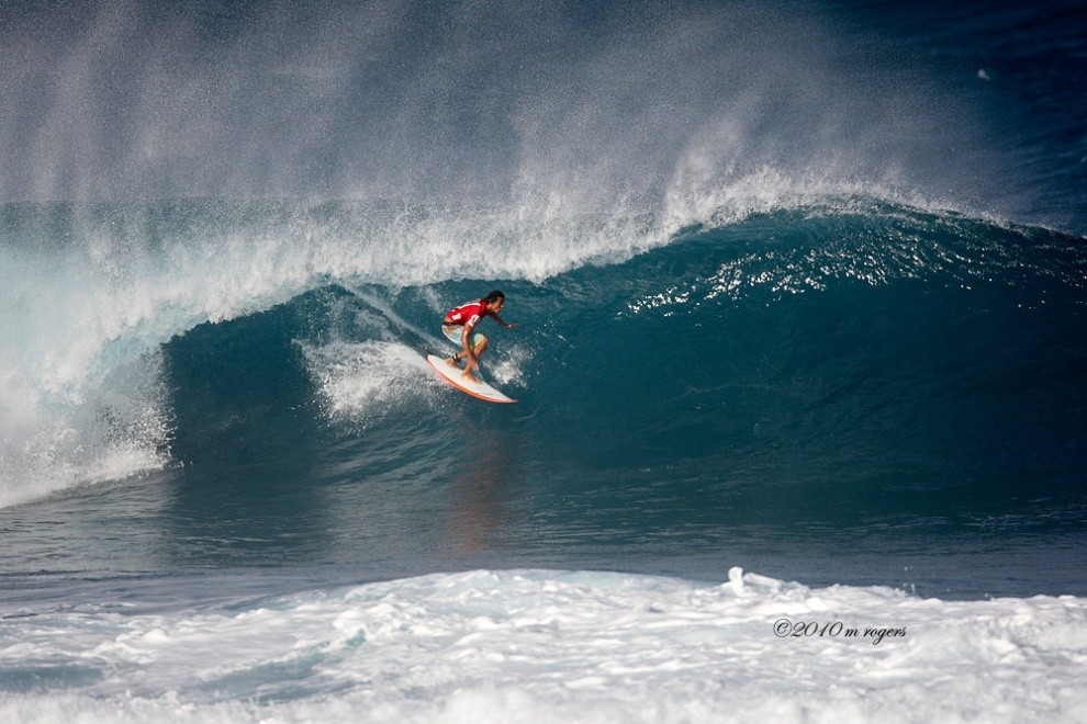 M Rogers's photo of Pipeline & Backdoor