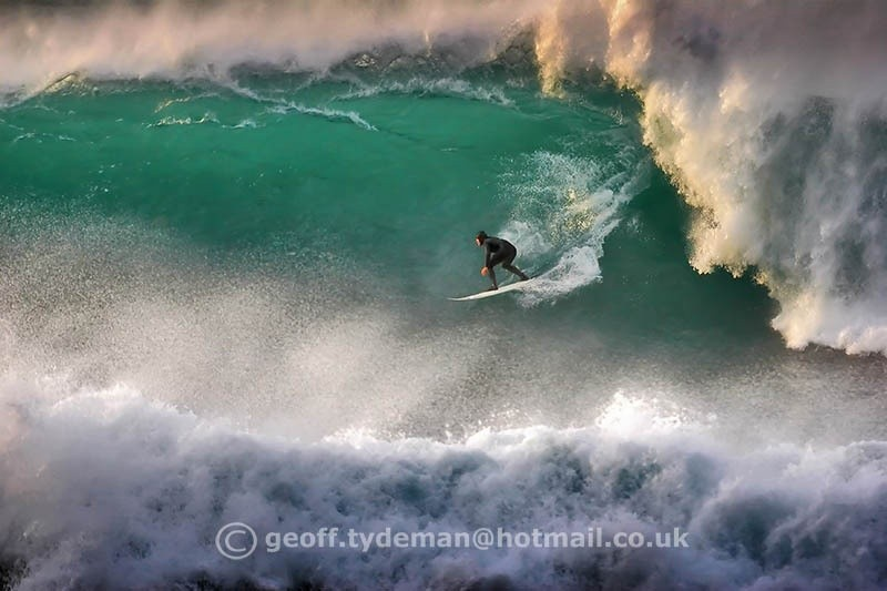 Geoff Tydeman's photo of Newquay - Cribbar
