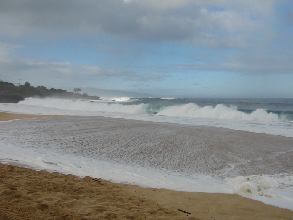 Gregory Borne's photo of Waimea Bay