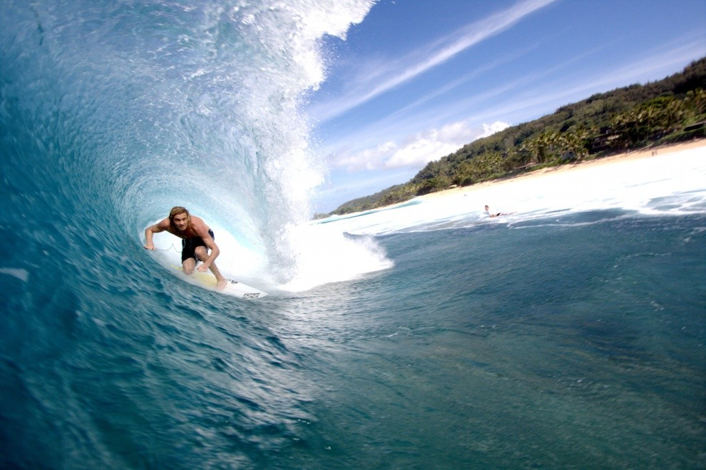 Patrick Vieira's photo of Pipeline & Backdoor
