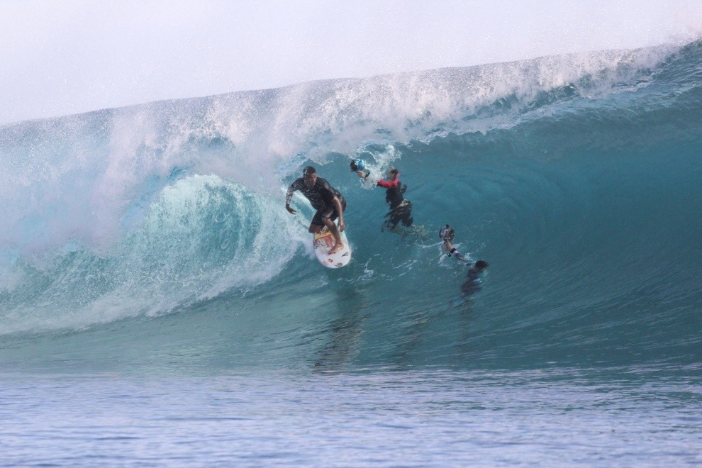 nancie brown's photo of Teahupoo
