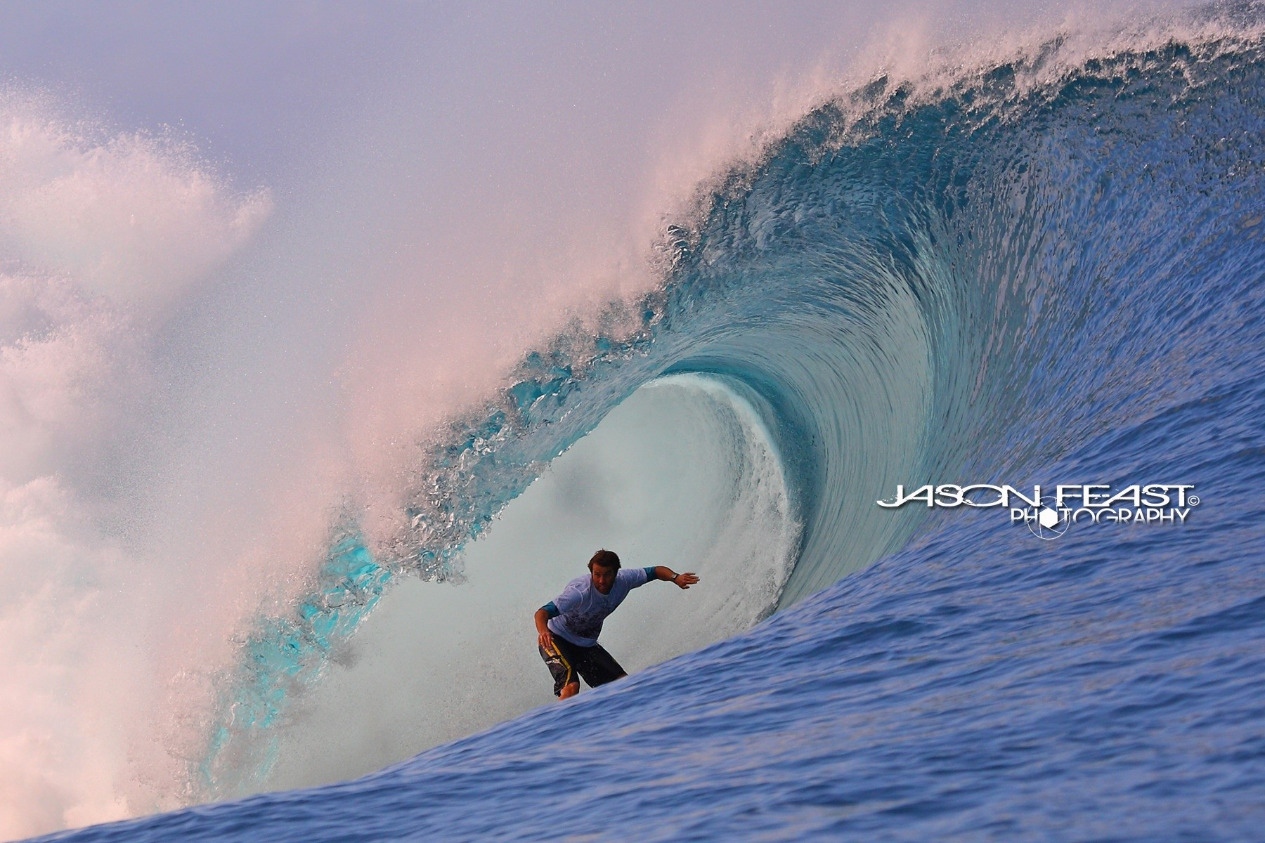 Jason Feast's photo of Teahupoo