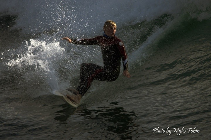 Myles Tobin's photo of Steamer Lane