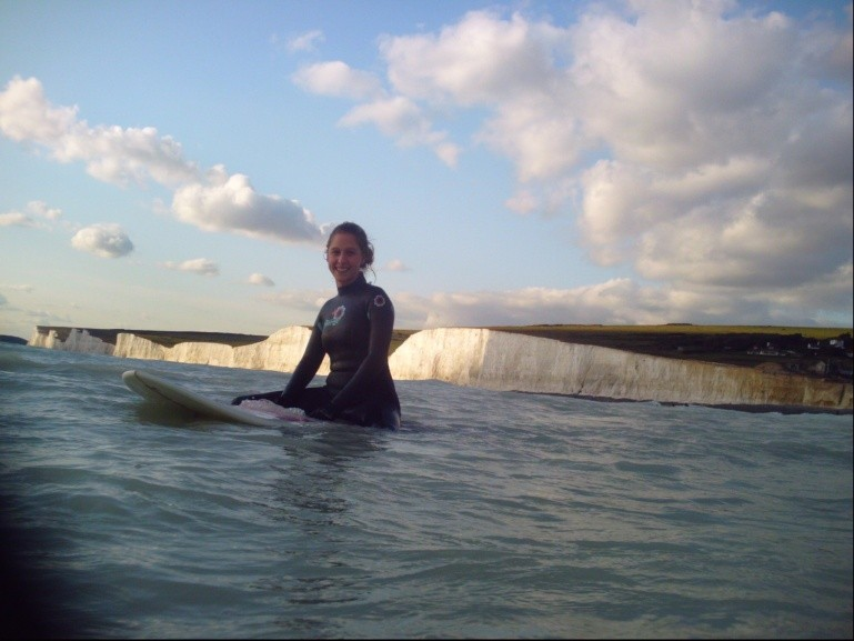 Uncle danger's mate's photo of Birling Gap
